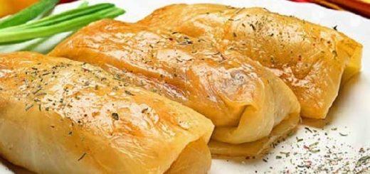 Картофельная толма. Рецепт