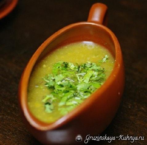 Ткемали - соус из зеленой алычи (1)