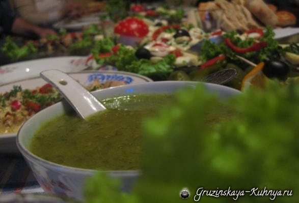 Ткемали - соус из зеленой алычи (2)
