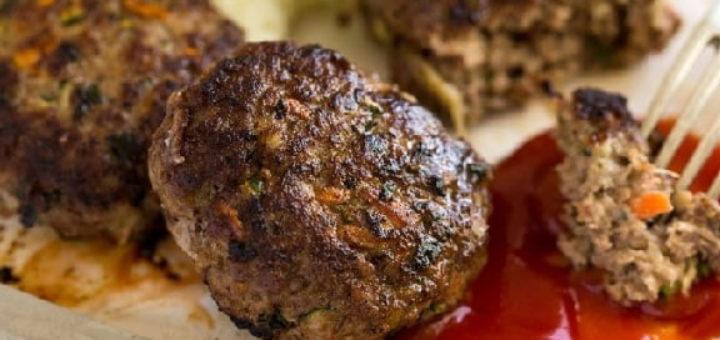 Котлеты из говядины с овощами (2)
