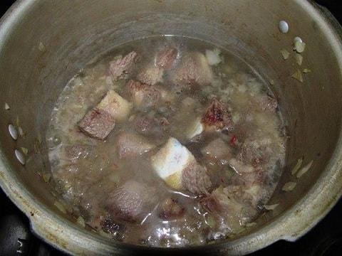 Соус из говядины с картошкой по-грузински (5)
