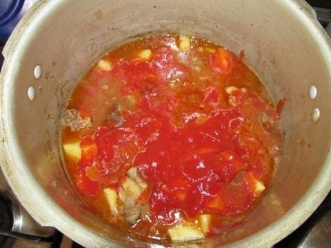 Соус из говядины с картошкой по-грузински (6)