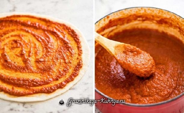 Рецепт домашнего соуса для пиццы (2)