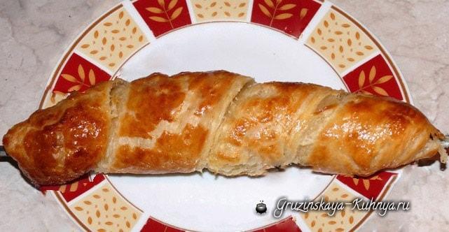 Хачапури на шампуре. Рецепт приготовления (4)