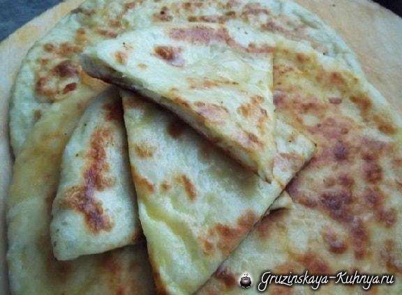 Хачапури с картофельной начинкой (5)