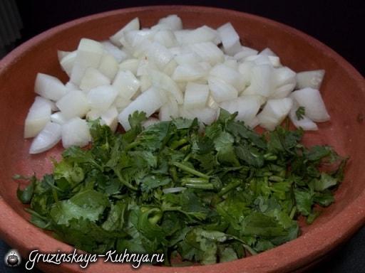 Лобио в горшочках - грузинское блюдо из фасоли (1)