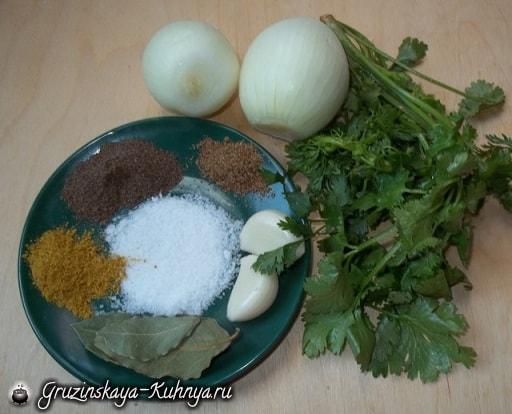 Лобио в горшочках - грузинское блюдо из фасоли (3)