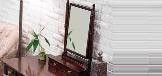 Настольные зеркала в интерьере