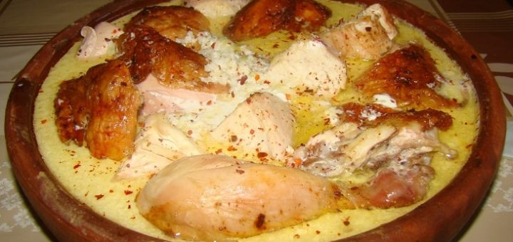 Рачинский шкмерули - грузинское блюдо из курицы (2)