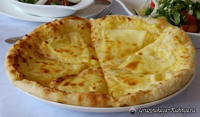 Рецепт хачапури «Мегрули Самепо» (1)