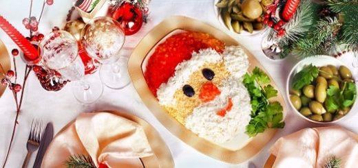 Рецепты оригинальных блюд на Новый год