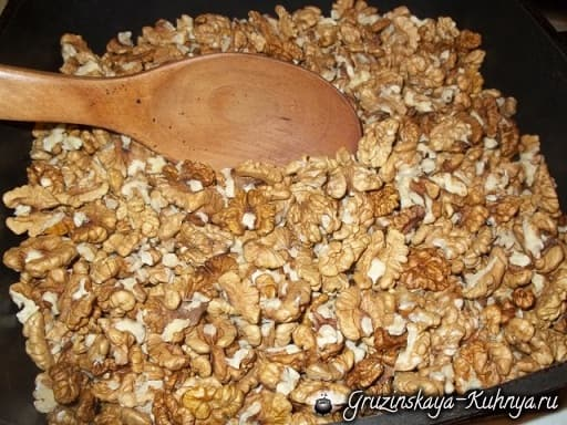 Гозинаки из грецких орехов. Грузинский рецепт (14)