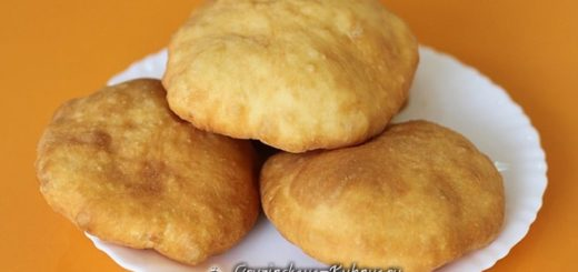 Грузинские пончики с кремом. Рецепт