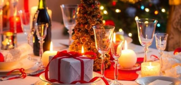 Основные элементы украшения новогоднего стола 2018 (2)