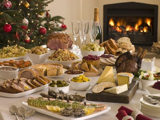 Основные элементы украшения новогоднего стола 2018 (3)