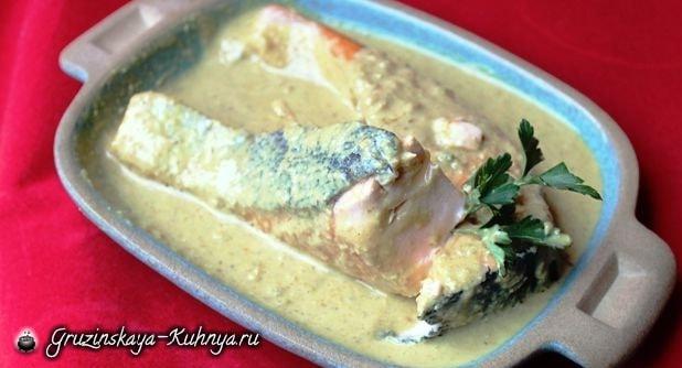 Сациви из рыбы. Грузинский рецепт (1)