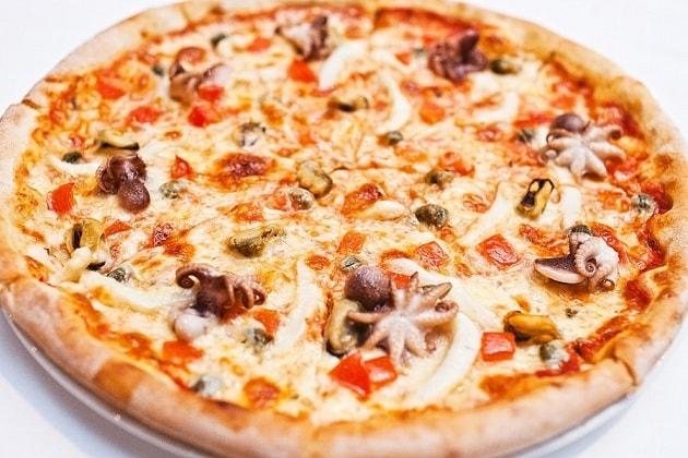 Морская пицца «De la more»