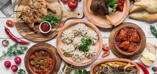 Грузинская кухня в кафе «Батони» (1)