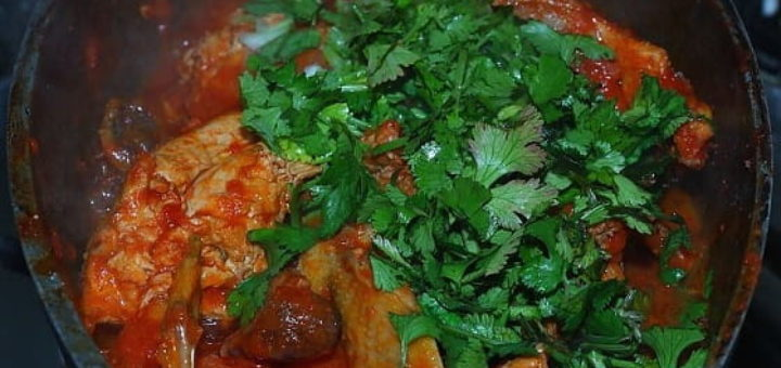Чахохбили из фазана. Пошаговый рецепт (3)