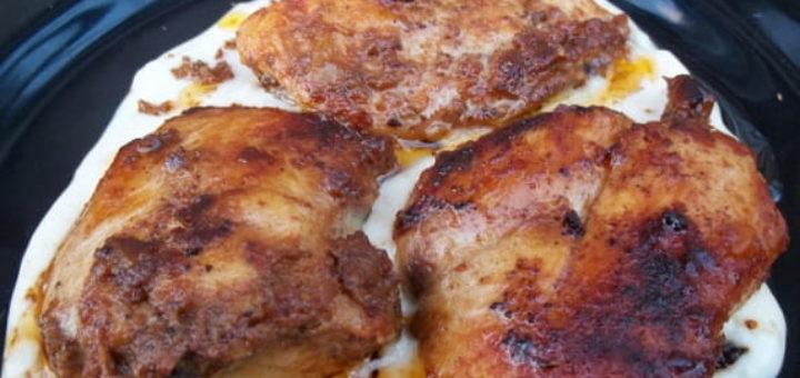 Курица в майонезе со сванской солью (1)