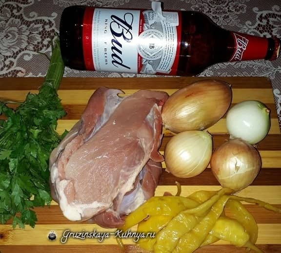 Свинина в пиве с соленым перцем (1)