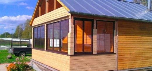 Веранда к дому с пластиковыми окнами - отличная зона отдыха (2)