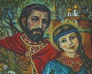 Икона Петра и Февронии (3)