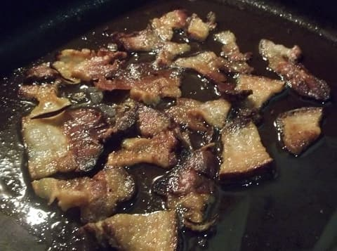 Чашушули из копченого свиного сала (5)