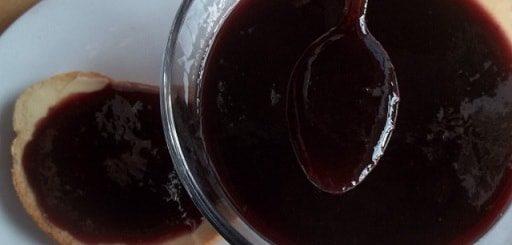 Джем из черного винограда по-грузински (6)