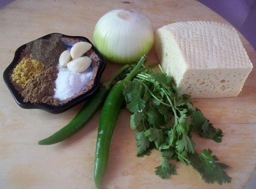 Лобио с имеретинским сыром (1)