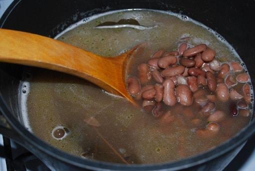 Лобио с лапшой. Грузинский рецепт (4)