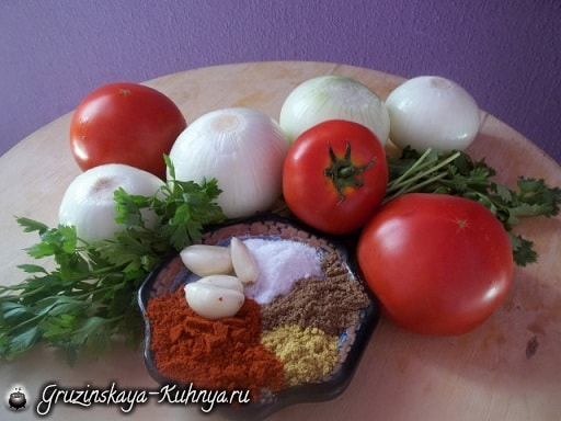 Лобио с помидорами и специями (3)
