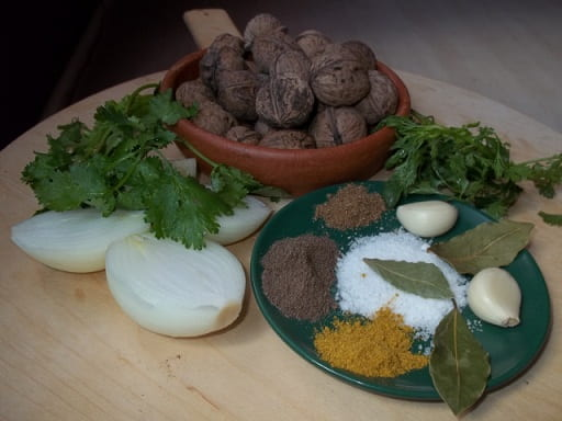 Рецепт лобио с грецкими орехами (3)