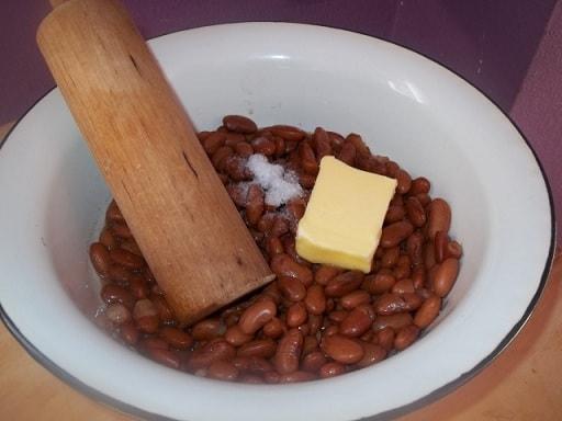 Рецепт лобио с копченым салом (3)