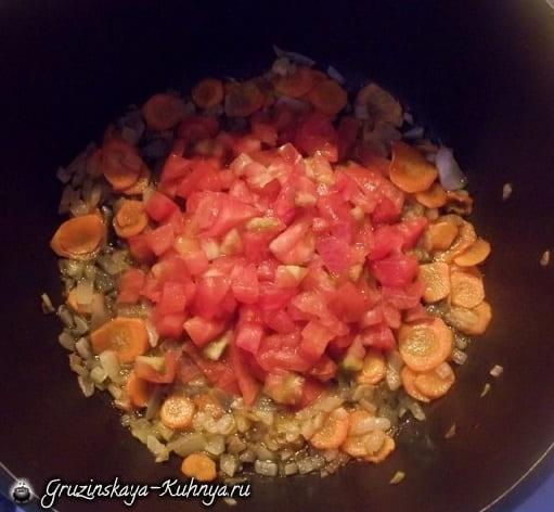 Суп лобио с овощами и специями (2)