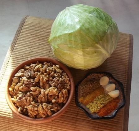 Толма с грецкими орехами и специями (2)