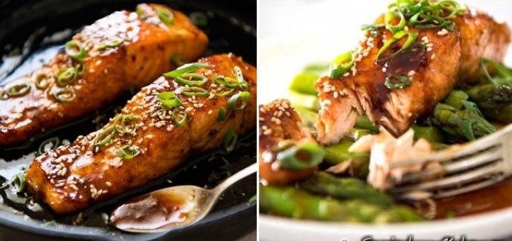 Медовый лосось. Рецепт (1)
