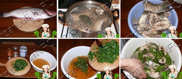 Как приготовить рыбу в киндзмари (1)