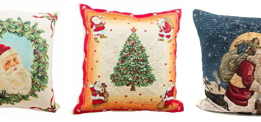 Новогодние наволочки в магазине эксклюзивных подарков Villa Grazia