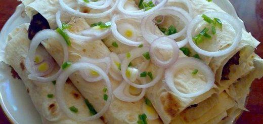 Рецепт кабаби в лаваше по-грузински (1)