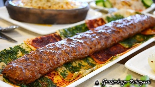 Рецепт кабаби в лаваше по-грузински (2)