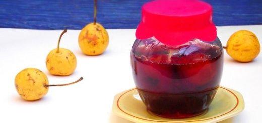 Варенье из осенних диких груш (1)