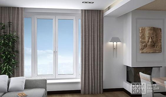 Окна из ПВХ - разновидности, свойства