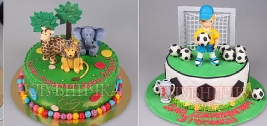 Современные торты для детей поражают воображение (1)