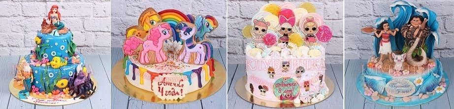 Современные торты для детей поражают воображение (2)