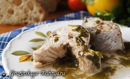 Блюдо из рыбы в киндзмари (1)