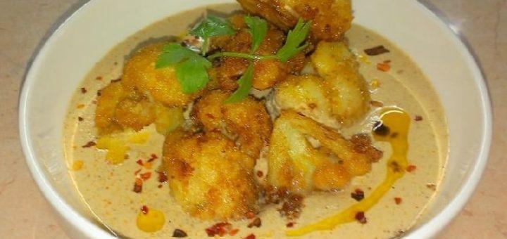 Цветная капуста в ореховом соусе баже (1)