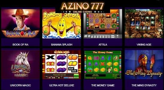 Мобильная версия сайта Азино 777