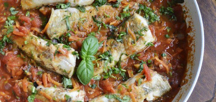 Нототения в томатном овощном соусе