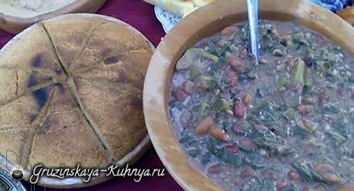Пхал-лобио. Блюдо аджарской кухни (2)